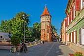 Potter's Tower, Sibiu, Transylvania, Romania