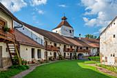Evangelical Church Fortress of Harman, Brasov County, Transylvania, Romania