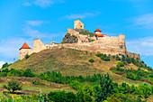 Rupea Castle, Rupea, Brasov County, Transylvania, Romania
