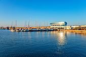 Sports harbor of Constanta, Dobruja, Black Sea coast, Romania