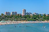 Constanta Beach, Dobruja, Black Sea Coast, Romania