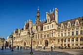 Hotel de Ville, Rathaus, UNESCO Welterbe Seine-Ufer, Paris, Frankreich