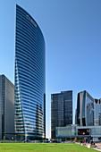 Hochhäuser in La Defense, La Defense, Paris, Frankreich