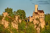 Lichtenstein Castle, Swabian Jura, Baden-Württemberg, Germany