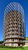 High-rise hotel tower Falkensteiner Hotel, architect Matteo Thun, Katschberg, Carinthia, Austria