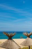 Beach, Tizzano, near Sartène, Corse-du-Sud, Corsica, France