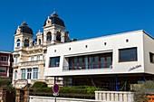 France, Charente Maritime, Royan, villa White Shadow built in 1959 by architect C. Bonnefoy