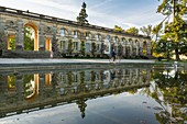France, Gironde, Bordeaux, area classified World Heritage by UNESCO, Public Garden of 1746 designed by landscape architect Ange Jacques Gabriel, central building built in 1858