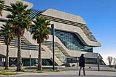 Frankreich, Herault, Montpellier, Mosson-Viertel, Pierresvives, Stadt des Wissens und des Sports für alle, entworfen von der Architektin Zaha Hadid