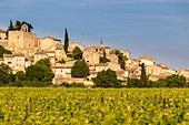 France, Vaucluse, Parc Naturel Regional du Luberon (Natural Regional Park of Luberon), Ansouis, labelled Les Plus Beaux Villages de France (The Most Beautiful Villages of France), certified the Most beautiful Villages of France
