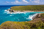 France, Guadeloupe (French West Indies), Grande Terre, Anse Bertrand, lagoon Hell's Gate