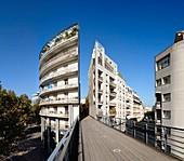 France, Paris, the Promenade plantee or Coulee Verte