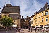 Platz der Freiheit, Sarlat-la-Caneda, Dordogne, Frankreich