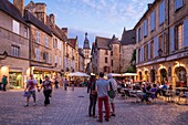 France, Dordogne, Sarlat la Caneda, Liberty Square