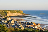 France, Calvados, Arromanches les Bains, historic place of the Normandy landings
