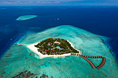 Alimatha holiday island, Felidhu Atoll, Indian Ocean, Maldives