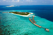 Tourist island Velassaru, South Male Atoll, Indian Ocean, Maldives