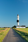 """Langer Christian"" lighthouse, Kampen, Sylt, Schleswig-Holstein, Germany"
