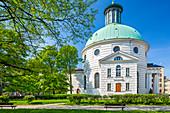 Evangelical Lutheran church of Holy Trinity, Stanislaw Malachowski Square, Warsaw, Mazovia region, Poland, Europe