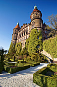 Ksiaz castle - largest castle in the Silesia region, located in northern Walbrzych in Lower Silesian Voivodeship, Poland.