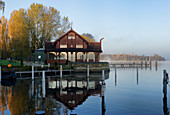 Kongsnaes, Imperial Sailor's Station on the Havel, Potsdam, Brandenburg, Germany