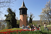 Schwedenturm, Insel Mainau, Bodensee, Baden-Württemberg, Deutschland