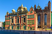 Baroque royal chapel at the Basilica of St. Mary of the Assumption of the Blessed Virgin Mary in Gdansk, commonly known as Mariacki church. Gdansk, Main City, Pomorze region, Pomorskie voivodeship, Poland, Europe