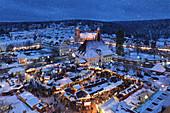 Weihnachtsmarkt, Freudenstadt, Schwarzwald, Baden-Württemberg, Deutschland, Europa