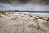 Sand dunes, Luskentyre Beach, West Harris, Outer Hebrides, Scotland, United Kingdom, Europe