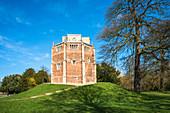 Kapelle Unserer Lieben Frau vom Berge (Rote Bergkapelle), erbaut 1485, für mittelalterliche Pilger, King's Lynn, Norfolk, England, Vereinigtes Königreich, Europa
