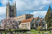Holy Trinity Church at Long Melford, Suffolk, England, United Kingdom, Europe