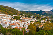 Historic old white village of Mijas, Andalucia, Spain, Europe