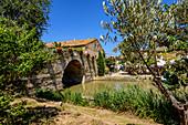 Le Somail on the Canal du Midi, Occitania, France