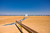 Beach path, Gruissan Plage, Occitania, France