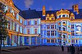 Frankreich, Loir et Cher, Loiretal, UNESCO Weltkulturerbe, Blois, das Schloss während der Licht- und Soundshow