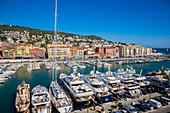 France, Alpes Maritimes, Nice, the old harbor or the old harbor Lympia