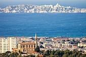 France, Bouches du Rhone, Marseille, the Hill Saint Joseph Chapel
