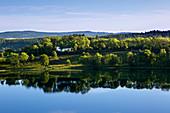 Weinfelder Maar, Totenmaar, near Daun, Eifelmaare, Eifel, Rhineland-Palatinate, Germany