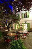 France, Haute Corse, Cap Corse, Brando, Erbalunga marina, Hotel Castel Brando, Compulsory mention: Hotel Castel Brando