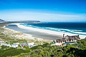 View over Noordhoek Beach, Chapmans Peak, Cape of Good Hope, South Africa, Africa