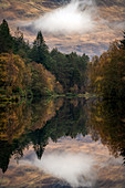 Autumn in Glencoe, Highlands, Scotland, United Kingdom, Europe