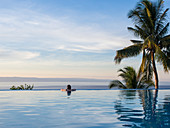 Infinity pool, Siquejor, Philippines, Southeast Asia, Asia