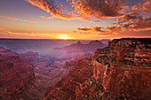 Cape Royal Viewpoint at sunset, North Rim, Grand Canyon National Park, UNESCO World Heritage Site, Arizona, United States of America, North America