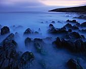 Seascape, long exposure