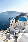 Oia, Santorini (Thira), Cyclades Islands, Greek Islands, Greece, Europe