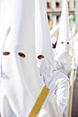 Semana Santa (Holy Week) celebrations, Malaga, Andalucia, Spain, Europe