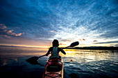 Sea Kayaking in Raja Ampat, West Papua, Indonesia, New Guinea, Southeast Asia, Asia