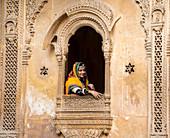 Patwa-ki-Haveli, Jaisalmer, Rajasthan, India, Asia