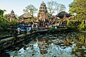 Pura Desa Ubud Wasserpalast, Ubud, Bali, Indonesien, Südostasien, Asien