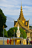 Königspalast, Phnom Penh, Kambodscha, Indochina, Südostasien, Asien